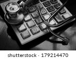 cost of health care concept ... | Shutterstock . vector #179214470