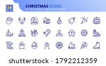 Outline Icons About Christmas....