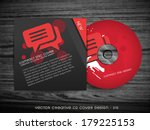 cd cover design with space for... | Shutterstock .eps vector #179225153