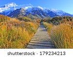Bridge To The Mountain In Mt....
