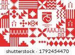 75 years independence day of... | Shutterstock .eps vector #1792454470