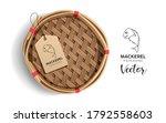 packaging mackerel basket ... | Shutterstock .eps vector #1792558603