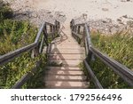 Picturesque Wooden Stairs...