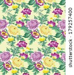 floral pattern.beautiful...   Shutterstock .eps vector #179257400