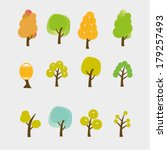 spring  winter  autumn  summer... | Shutterstock .eps vector #179257493