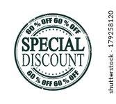 special discount grunge stamp... | Shutterstock .eps vector #179258120