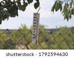 Analog White Thermometer...