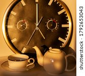 Five O Clock Tea With A Big...