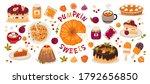Set Of Pumpkin Sweets  Pumpkin  ...
