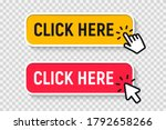 click here button with click... | Shutterstock .eps vector #1792658266