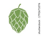vintage hop icon with grunge... | Shutterstock .eps vector #1792671076