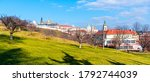 Prague Castle View From Petrin...