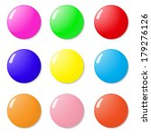 magnets  buttons color on a... | Shutterstock .eps vector #179276126