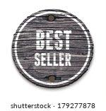 vector old wooden round sign...   Shutterstock .eps vector #179277878