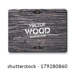 Vector Old Dry Gray Wood...
