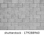 pattern of grey wall made of... | Shutterstock . vector #179288960