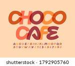 vector modern template choco... | Shutterstock .eps vector #1792905760