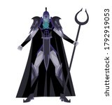 greek mythology hades pluto god   Shutterstock .eps vector #1792919053