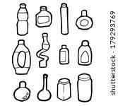 bottles | Shutterstock .eps vector #179293769