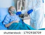 Medical Team Giving Oxygen Mask ...