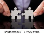 close up of businessperson... | Shutterstock . vector #179295986