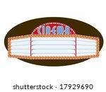 vector illustration of a movie...   Shutterstock .eps vector #17929690