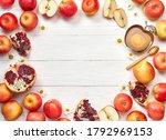 rosh hashanah  jewish new year... | Shutterstock . vector #1792969153