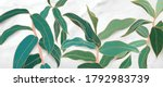 luxury gold tropical leaf and... | Shutterstock .eps vector #1792983739