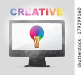 vector illustration of creative ...