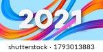 colorful brushstroke paint... | Shutterstock .eps vector #1793013883