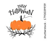 halloween party card ...   Shutterstock .eps vector #1793039959