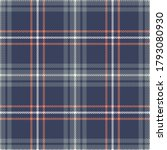 plaid pattern in blue  grey ...   Shutterstock .eps vector #1793080930