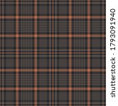 Glen Plaid Pattern In Brown And ...