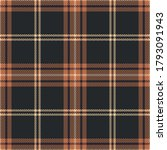 Check Plaid Pattern In Brown ...