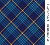 plaid pattern in blue and...   Shutterstock .eps vector #1793091946