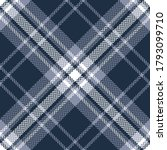 plaid pattern in blue and white.... | Shutterstock .eps vector #1793099710