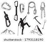 Set Of Climbing Equipment....