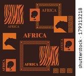 african design. beautiful... | Shutterstock .eps vector #179313218