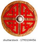 Viking Round Wooden Brown...