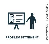 problem statement icon.... | Shutterstock .eps vector #1793163349