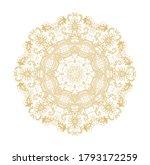 ornamental golden laced vector... | Shutterstock .eps vector #1793172259