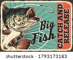 fishing colorful vintage... | Shutterstock .eps vector #1793173183