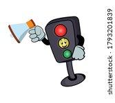 Traffic Light Character Cartoon ...