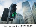 Green Traffic Light In The City ...