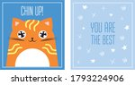 greeting card you are the best... | Shutterstock .eps vector #1793224906