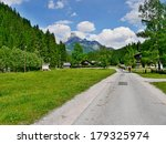 austrian alps view of the... | Shutterstock . vector #179325974