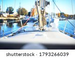 White Sailing Boat  For Rent ...