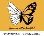Butterflies And Daisy  Positive ...