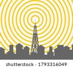 Landscape Wireless Tower....