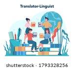 translator and translation...   Shutterstock .eps vector #1793328256